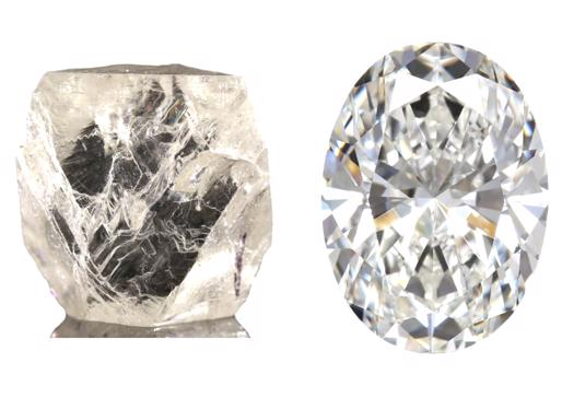 Rohdiamant_und_geschliffener_Diamant-514x364