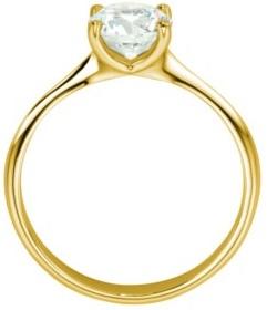 4 Krappen Diamantring Gelbgold