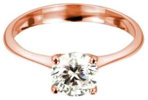 Rosegold Diamantring 4 Krappen