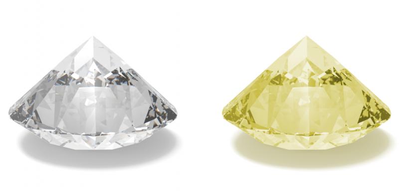 Diamant Farbe Color
