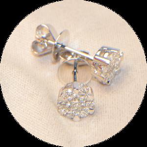 Ohrstecker Diamant